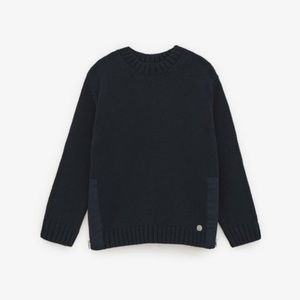 Zara Blue Color Knit Sweater Size 6-7 years NWT